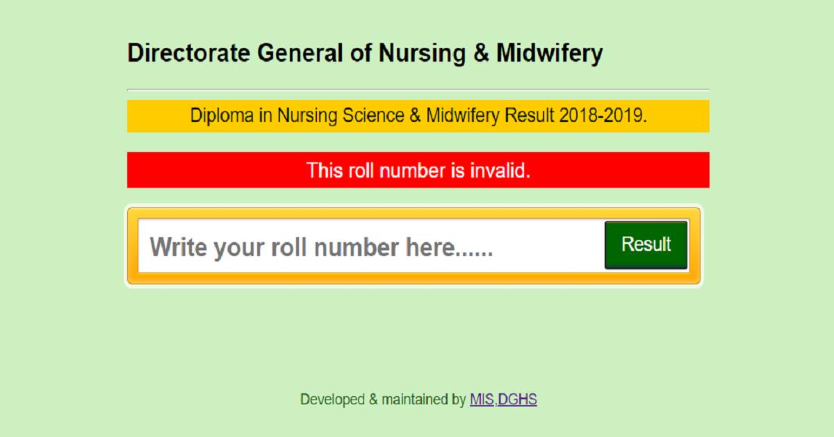 Nursing Reault